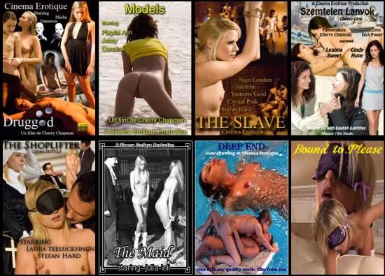 Eight cinema erotique movie posters