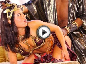 Missy Maze ravaged doggy style by Conan the Barbarian